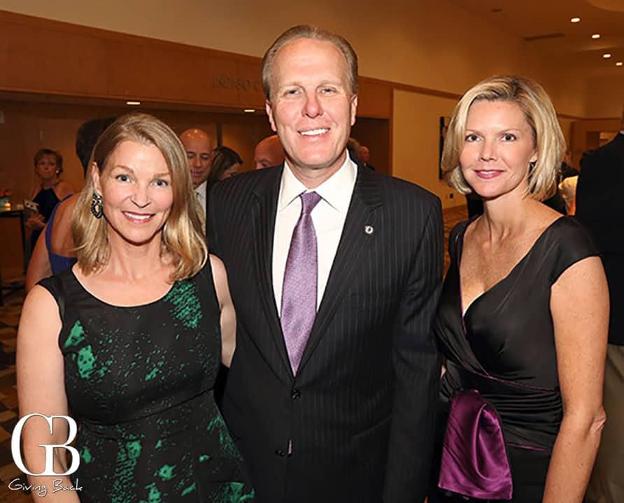 Elizabeth Oliver with Mayor Kevin and Katherine Faulconer