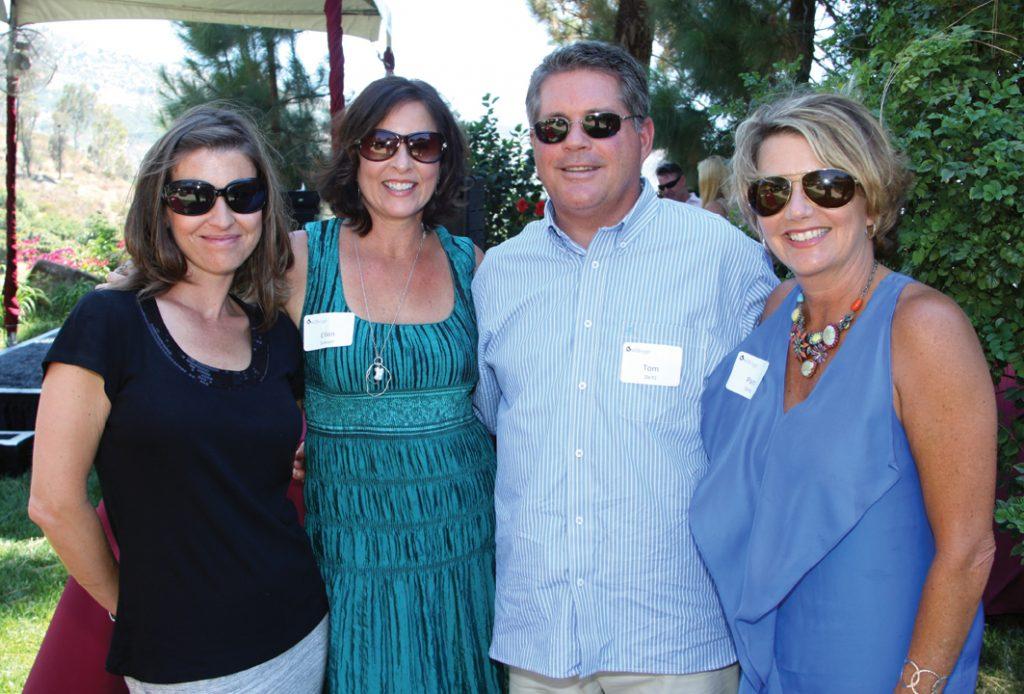 Elkie Wills and Ellen Sawyer with Tom and Pam Deitz.JPG