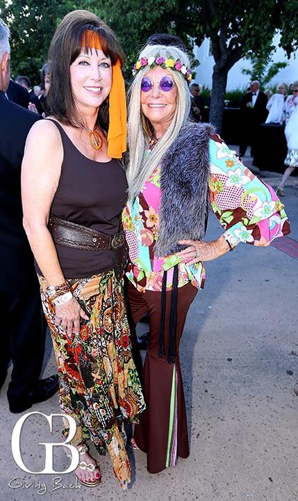 Ellen Bryson and Sandy Redman