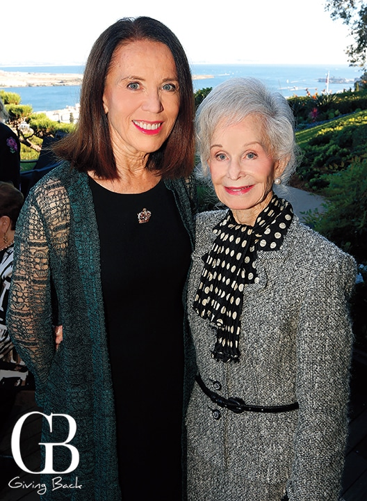 Ellen Moxham and Fran Golden