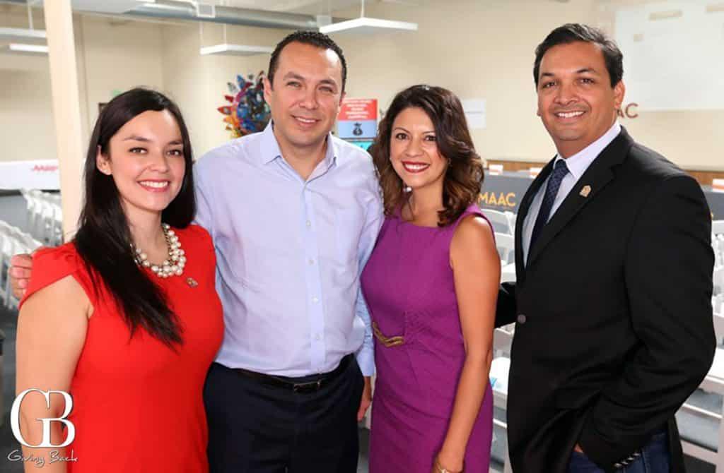 Elsa Roth  Hector Sanchez  Melody Gonzalez and Arnulfo Manriquez
