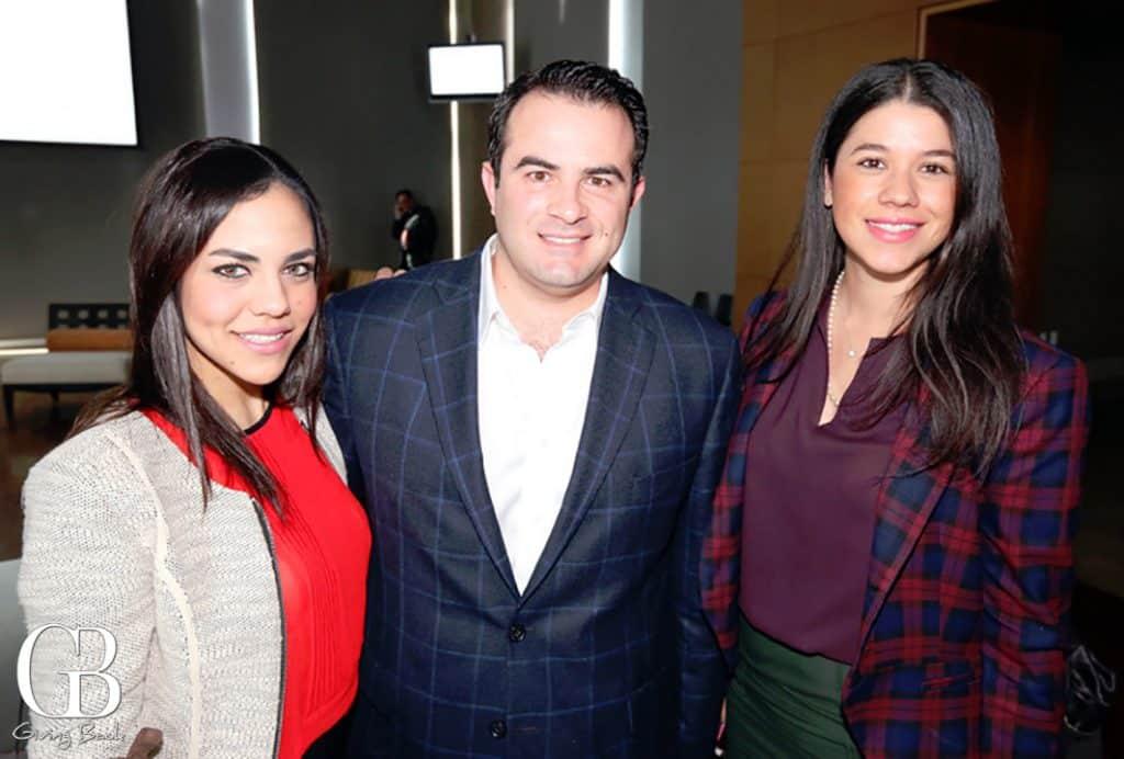 Emanette Peniche  Joaquin Luken y Silvia Ruiz