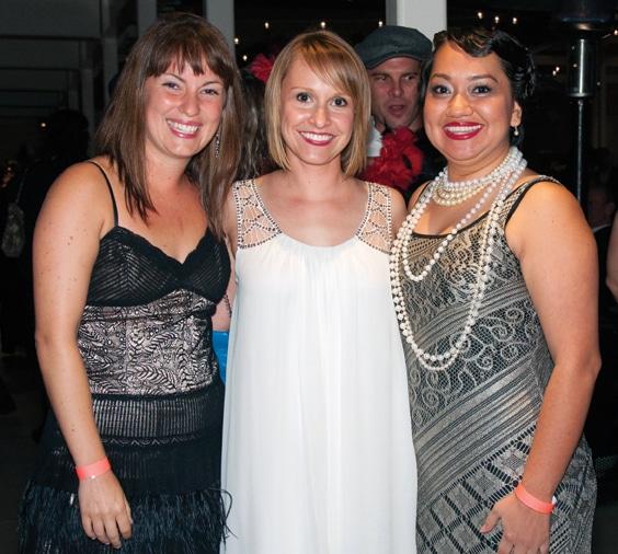Emily Merrit, Anneliese Wells and Alejandra Ceja