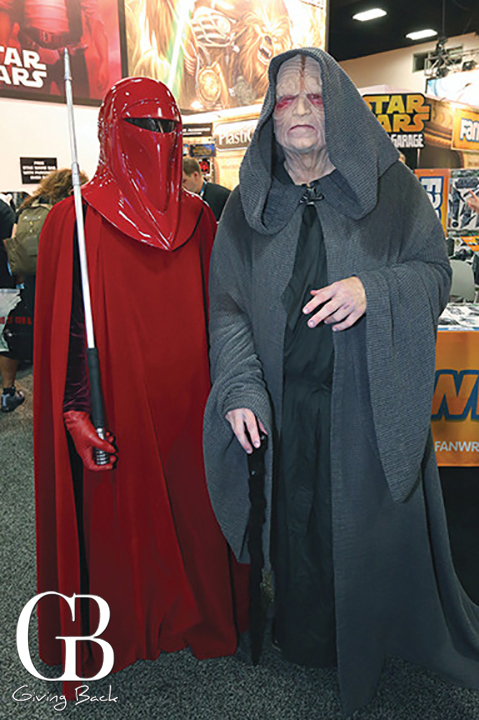 Emperor Palpatine and Royal Guard