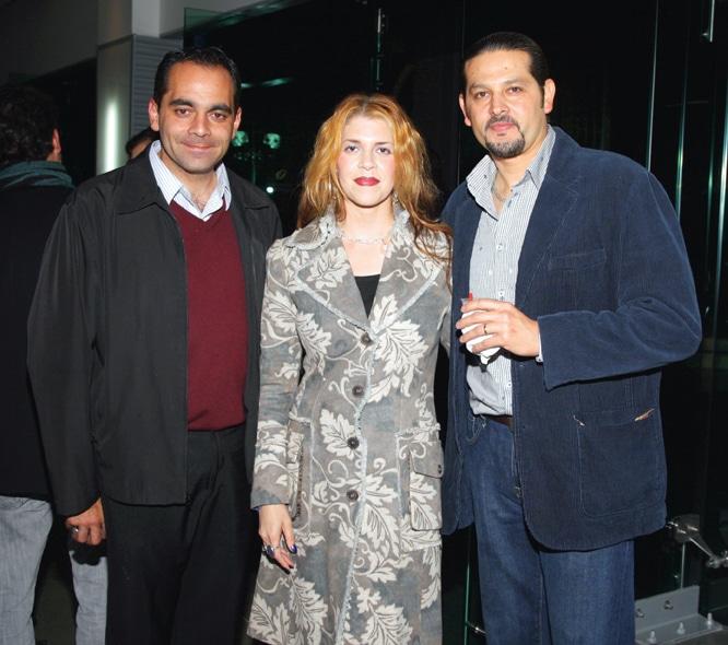 Enrique Seaman, Olga Cecilia Sanchez y Roberto Gutierrez