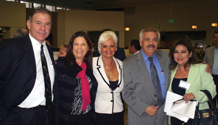Enrique and Karin Schon, Irma Olachea, Jesse Navarro and Claudia Garcia.JPG