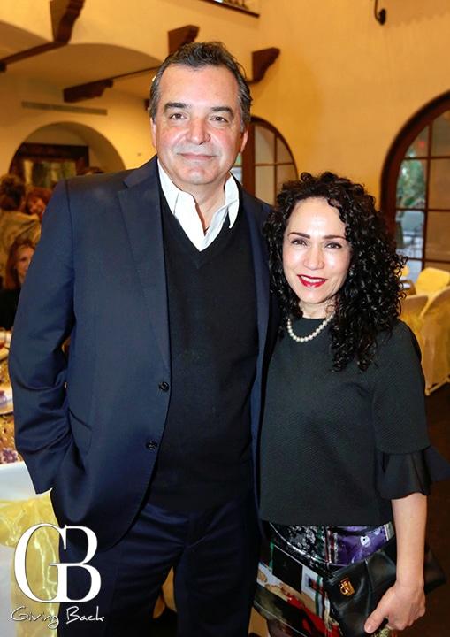 Enrique Fajardo y Vicky Cantu