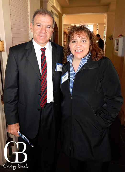 Enrique Schon and Christina Carrillo