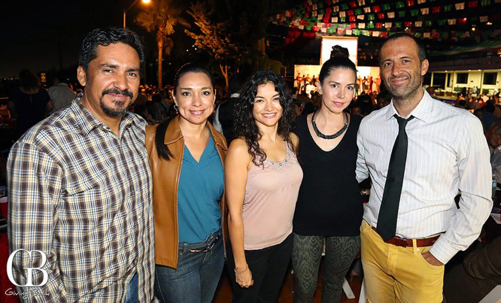 Erensto Sagado  Laura Nunez  Fabiola Nunez  Rosa Elena Morena y Manuel Martinez