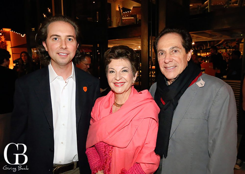 Eric Adler with Diana and Eli Lombrozo