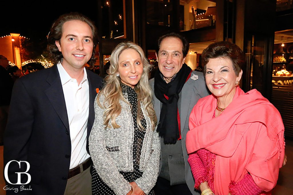 Eric and Denise Adler with Eli and Diana Lombrozo