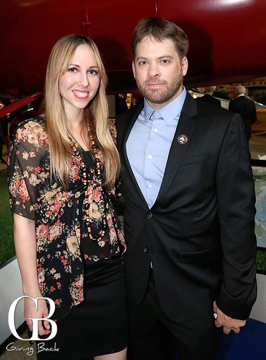Erica Johnson and Adam Curtis