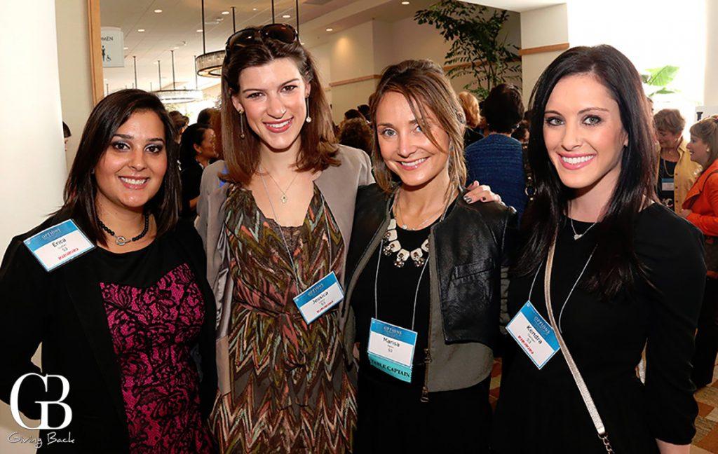 Erica Luster  Jessica Lazur  Marisa Polin and Kendra Gerber