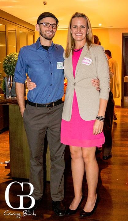 Erik Coon and Katie Sawyer