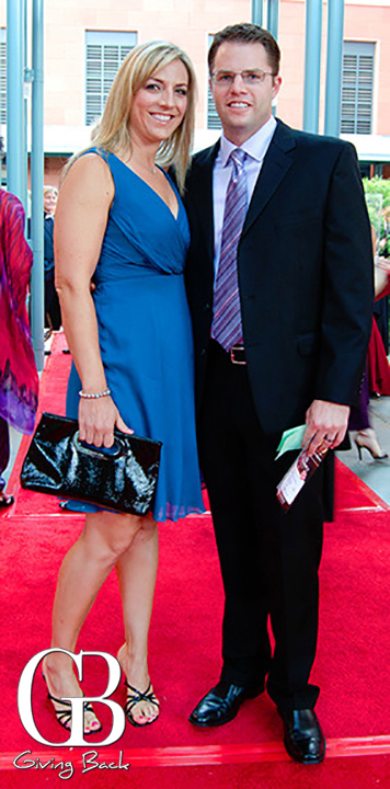 Erin Smith and Tony Schweinsberg