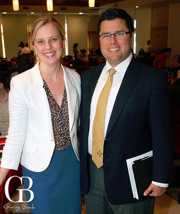 Erin Spiewak and Arthur Muniz