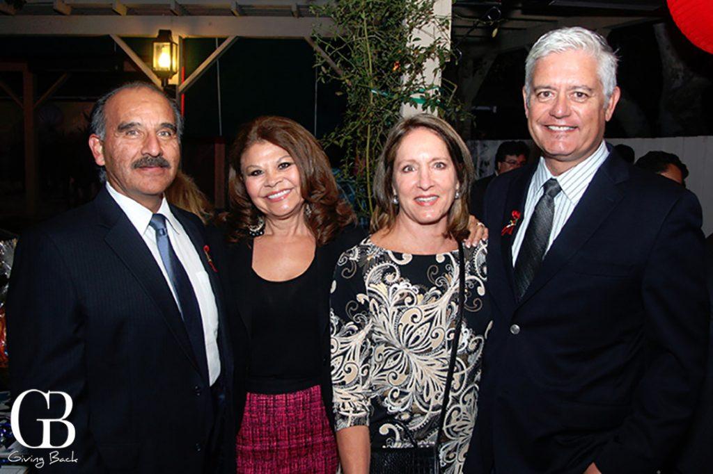 Espie and David Bejarano with Frank and Caren Urtasun