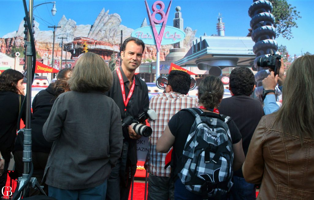 Esteban Villanueva at Disneyland Red Carpet Event