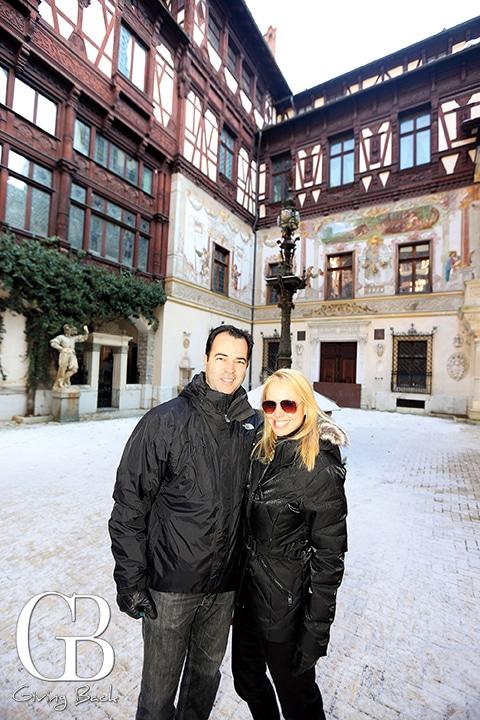 Esteban and Danitza Villanueva at Pele   Castle