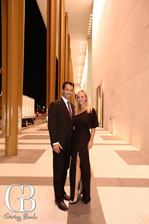 Esteban and Danitza Villanueva at The Kennedy Center