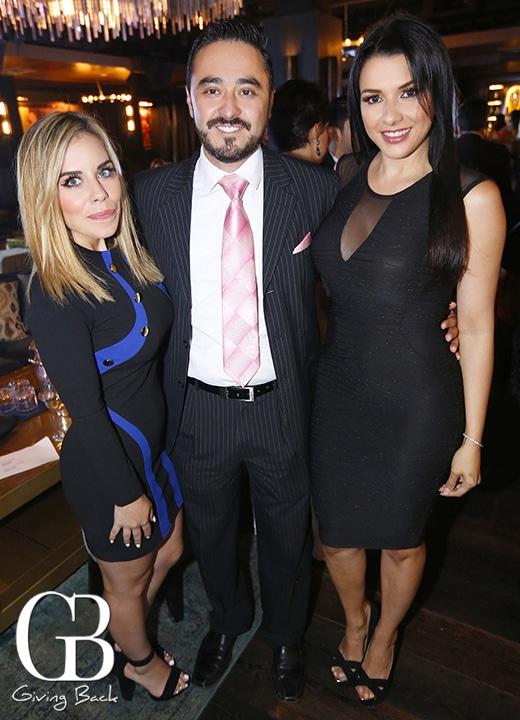 Estephania Baez  Ricardo Jimenez and Merivett Primera