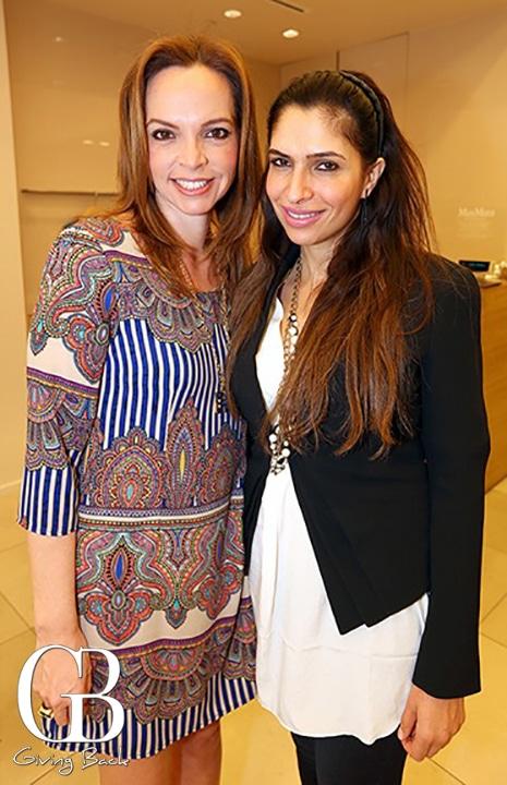 Esthela Castaneda y Rachel Galicot