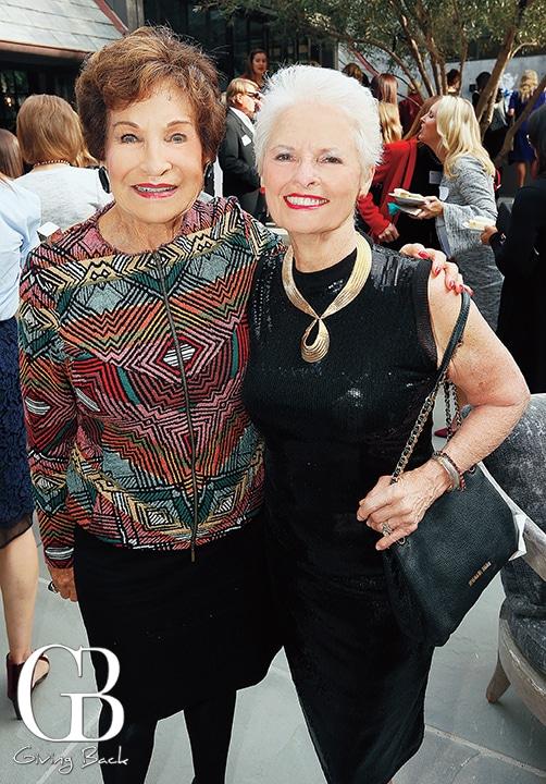 Esther Nahama and Ginger Reznik