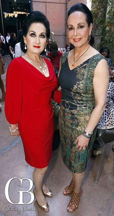 Eugenia Barroso y Alma Elsa Montes de Oca