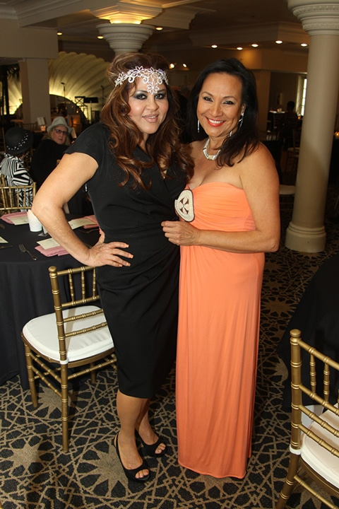 Eunice Fadwi and Deborah Heinzman