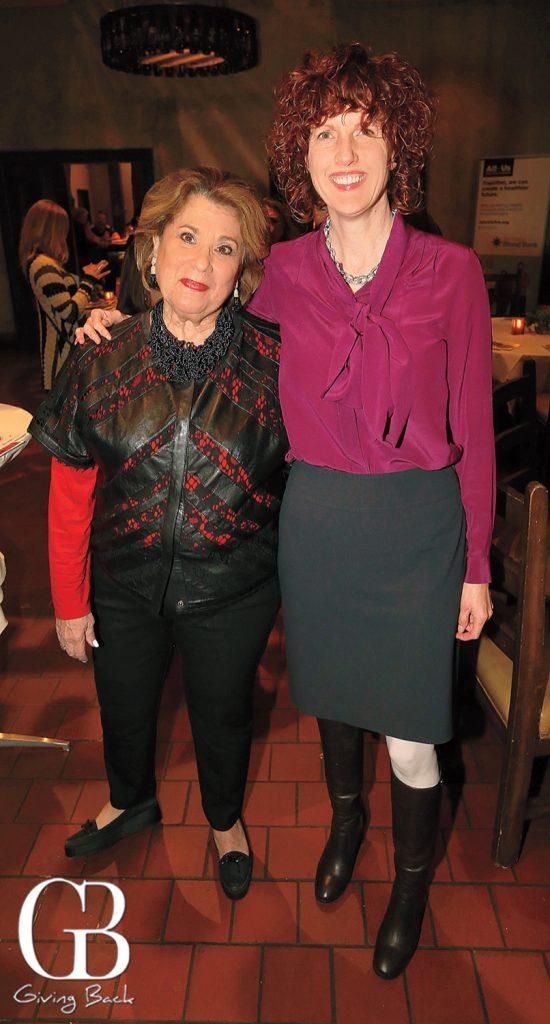 Eve Benton and Michele Corbett