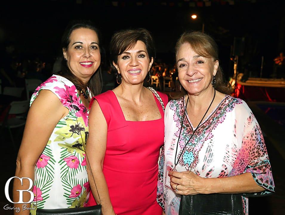 Evelia Valenzuela  Maripaz Morales y Margarita Grijalba