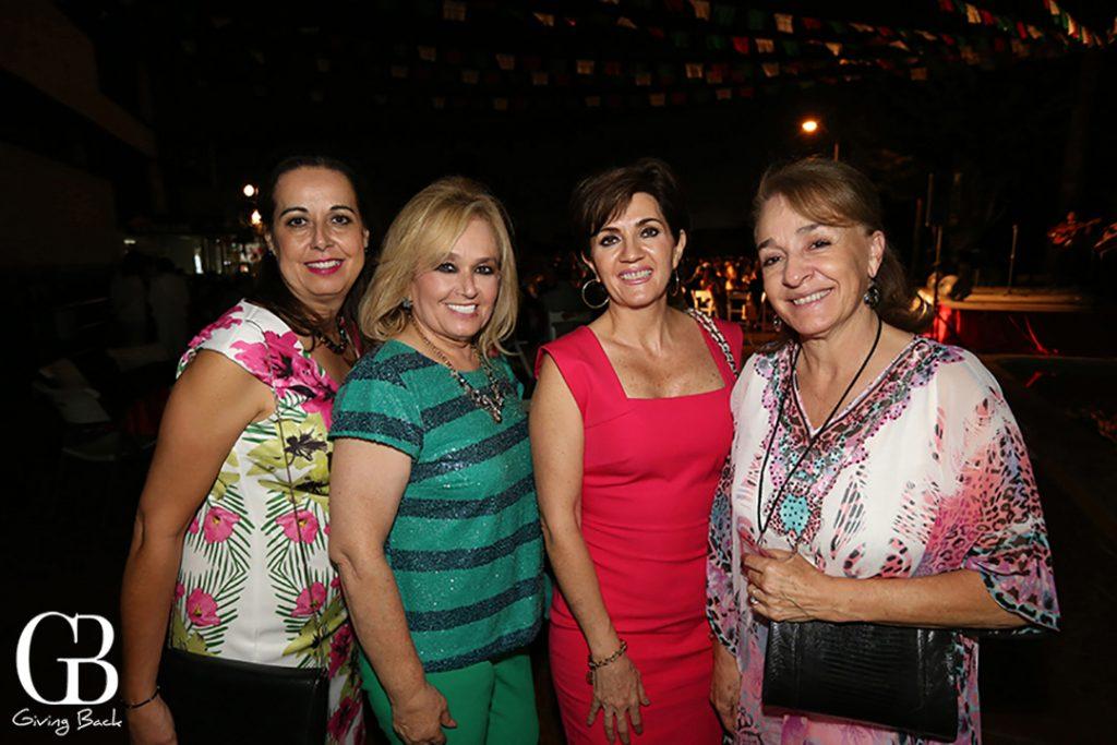Evelia Valenzuela  Marisela Perez  Maripaz Morales y Margarita Grijalba