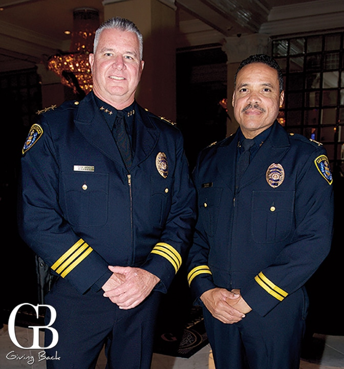 Executive Assistant Chief  Todd Jarvis and Assistant Chief  Keith Lucas