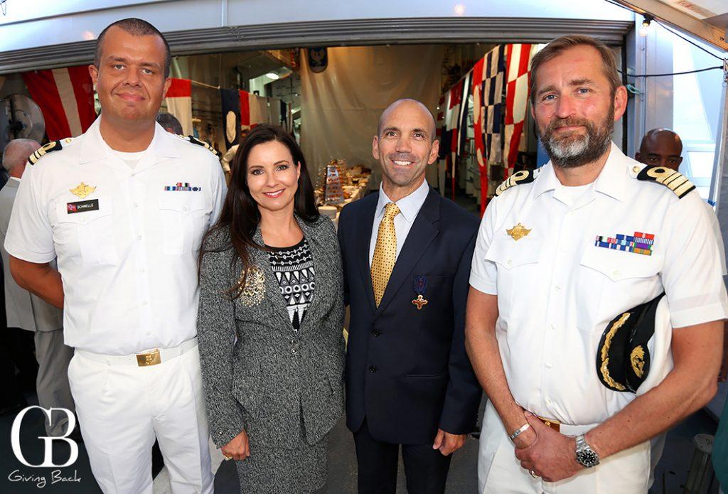 Executive Officer Stian Schmelle  Annika and Consul Gordon Kovtun and Captain Per Rostad