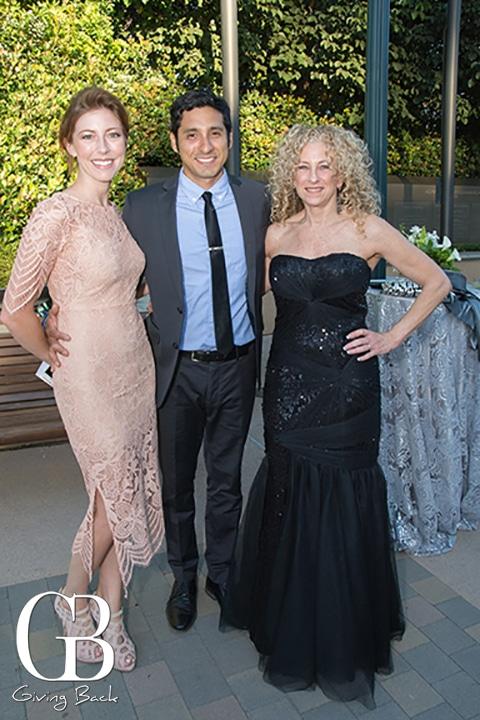 Farra and Juan Miron with Debra Dveris