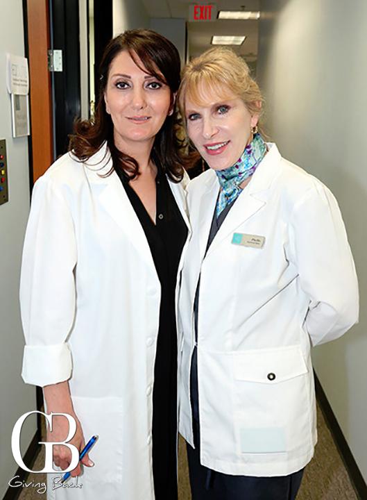 Farzaneh Moneni and Phyllis Massino