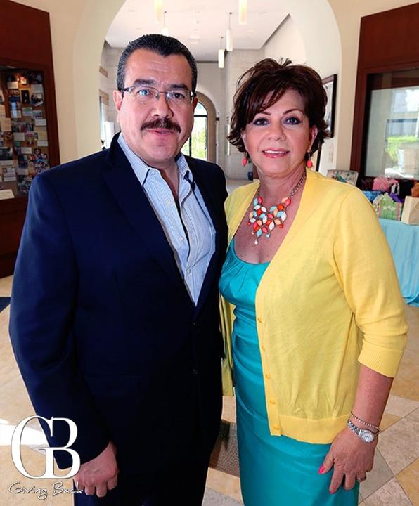 Federico and Sarina Serrano