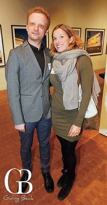 Felix Schlesinger and Annika Linke