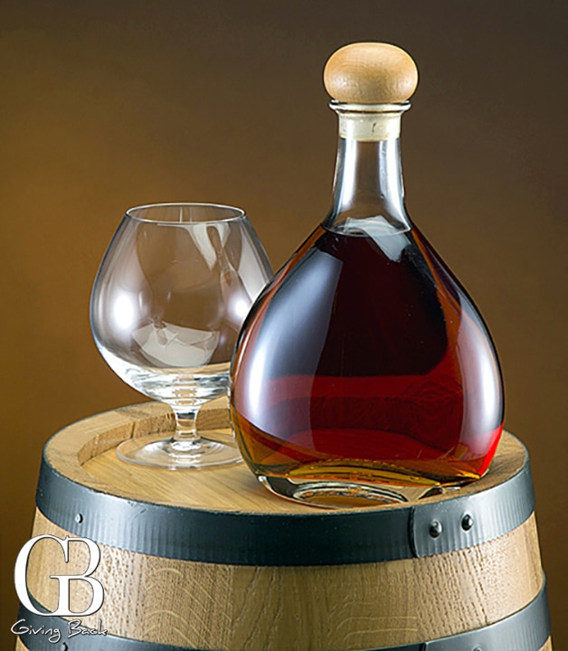Fenice Bottle with Cognac Snifter