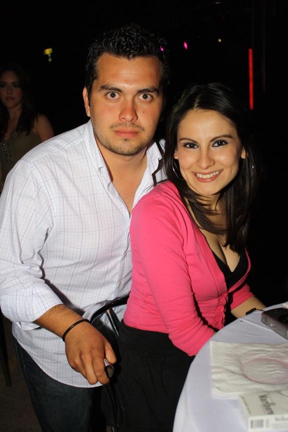 Fernando Alvarez Tostado y Vanessa Ramirez