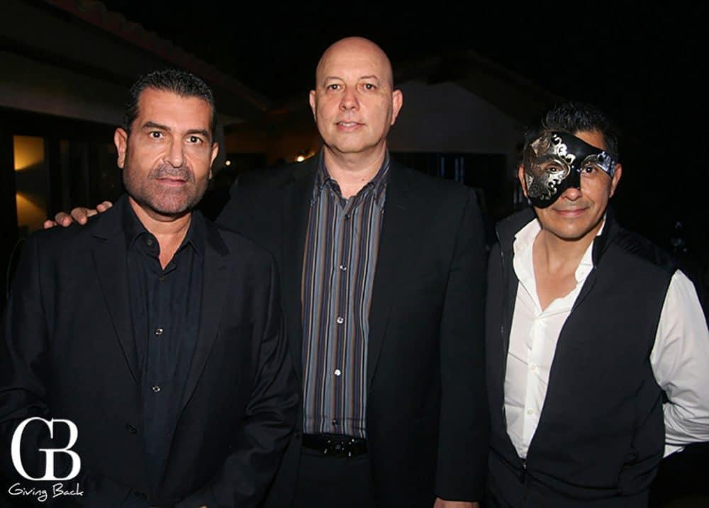 Fernando Lopez  Rodolfo Batiz y Victor Barreiro