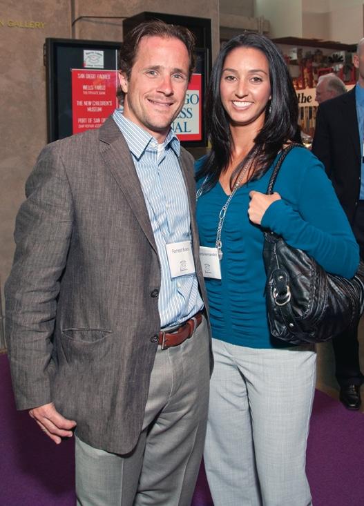Forrest Evans and Amanda Hernandez