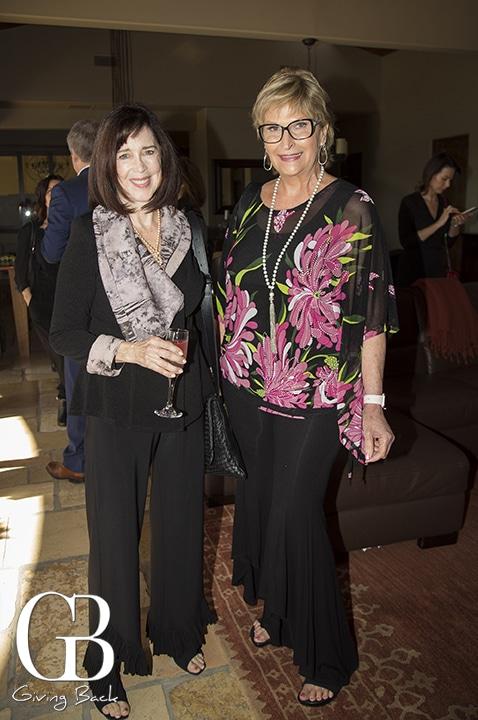 Frances Belliveau and Coleen Choisser
