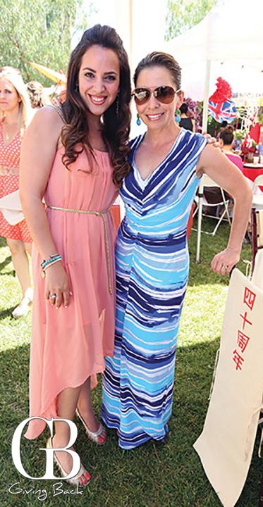 Francesca Gonzalez Otanez y Clarisa Gonzalez