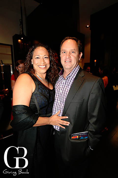 Francine Gonzalez and Patrick Duffy