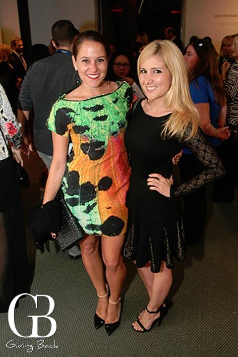 Francine Miley and Noelle Ibrahim