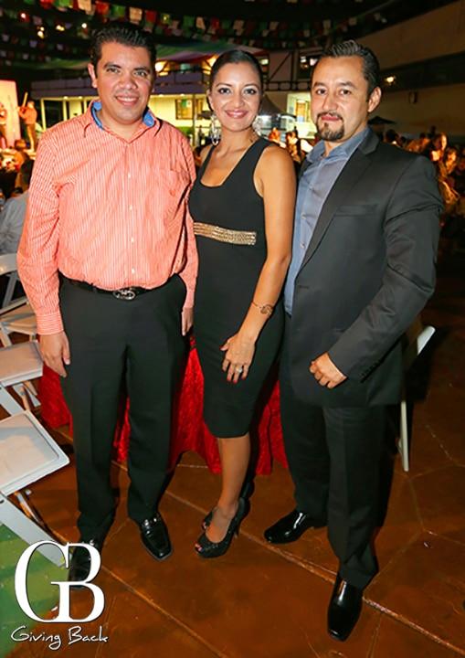 Francisco Eucacho  Brenda Orozco y Max Chinolla