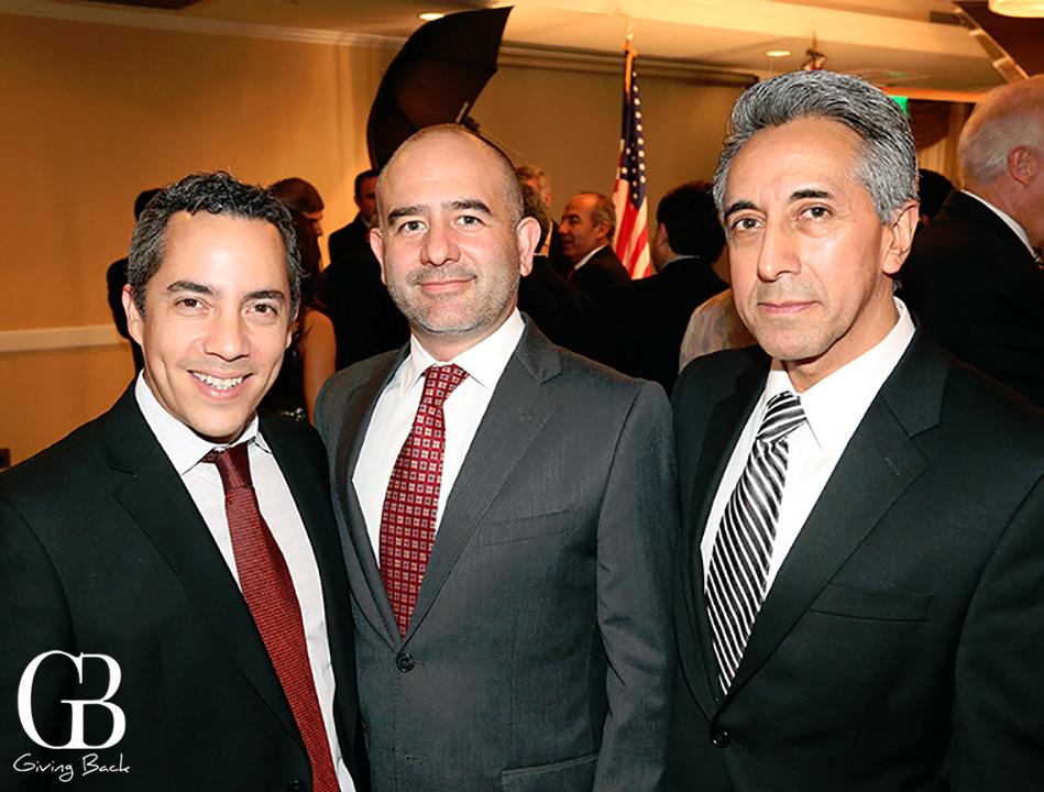 Francisco Sanchez  Antonio Barbosa y Alberto Diaz Gonzalez