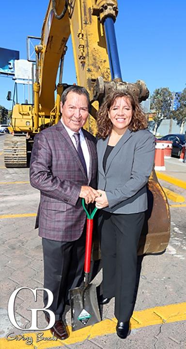 Frank Carrillo y Christina Suggett
