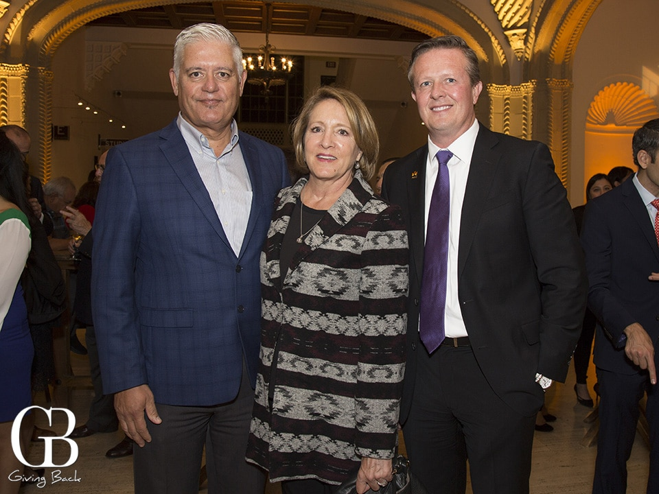 Frank and Caren Urtasun with Brian Epperson